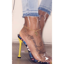 Load image into Gallery viewer, Femi Africa Map Gold Anklet-Adore Her Sole