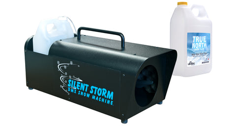 Ultratec Silent Storm Snow Machine + Free Snow Fluid