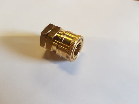 Brass Quick Disconnect Coupler (Female)