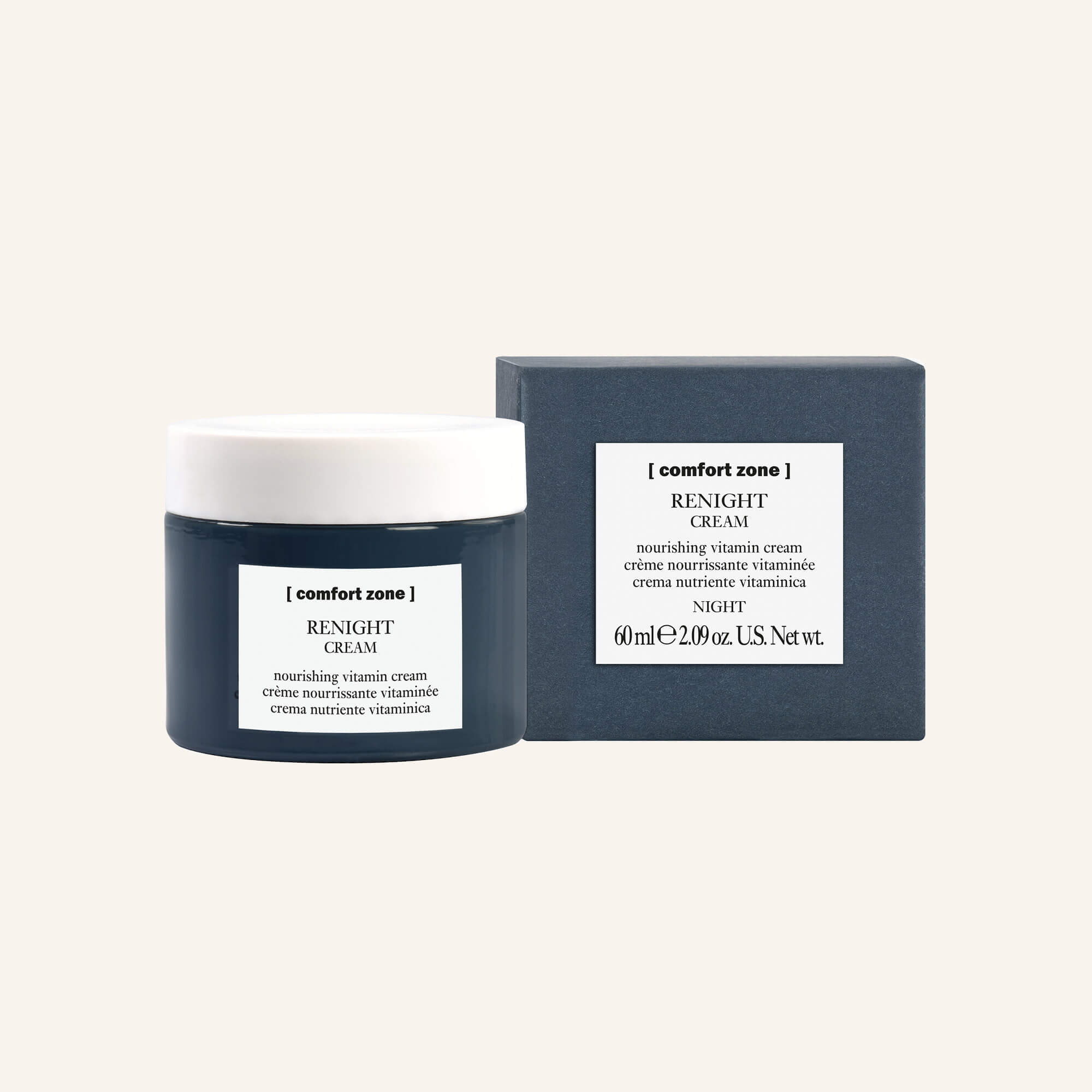 Renight Cream • Nährstoffspendene Vitamincreme - Beauty Eco Soul • Ramona Rieso