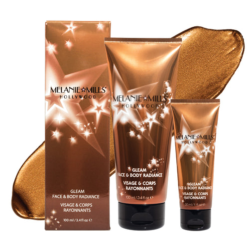 DEEP GOLD Gleam Face & Body Radiance All In One Makeup, Moisturizer & Glow