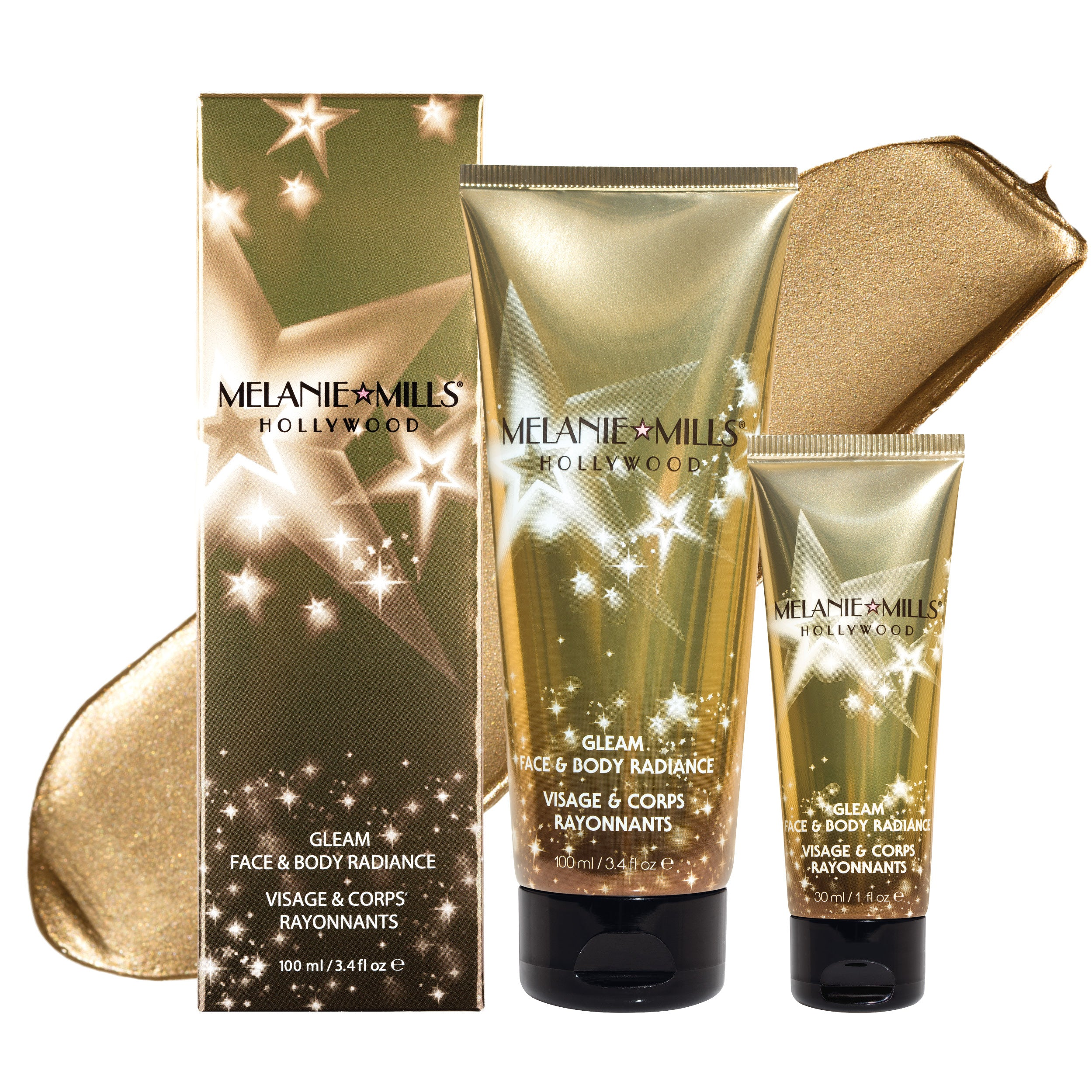 DISCO GOLD Gleam Face & Body Radiance All In One Makeup, Moisturizer & Glow