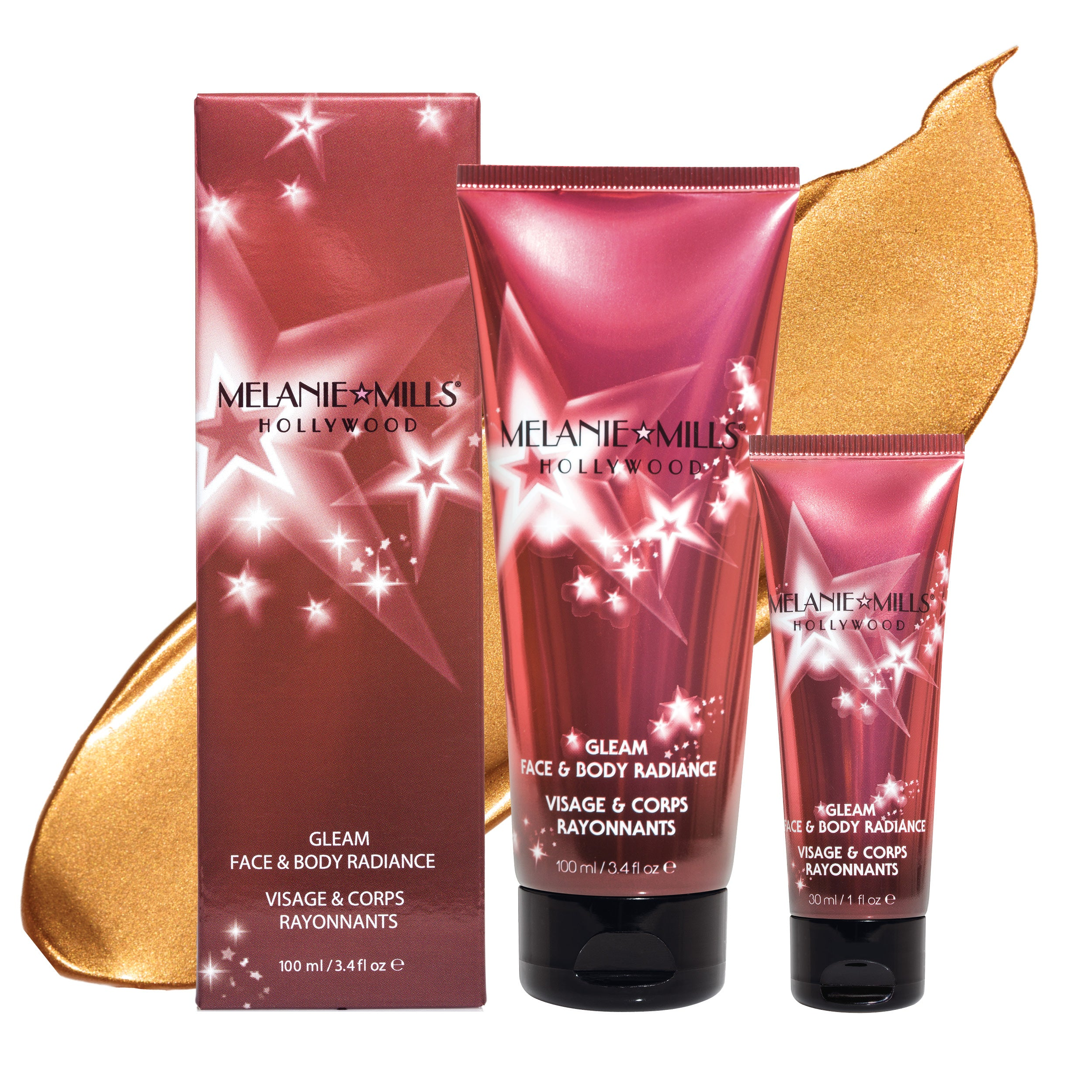ROSE GOLD Gleam Face & Body Radiance All In One Makeup, Moisturizer & Glow