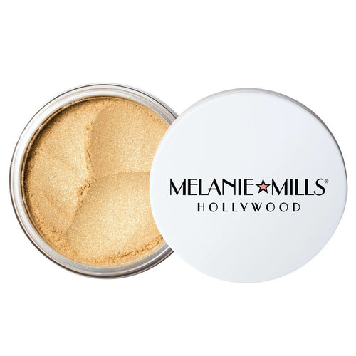 LIGHT GOLD Gleam Radiant Dust Shimmering Loose Powder for Face & Body