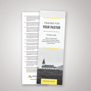 Praying for Your Pastor — Pamphlet (Pack of 50)