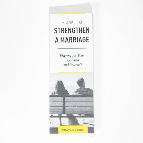 Pray for Your Husband and Yourself — Bookmark (Pack of 25)