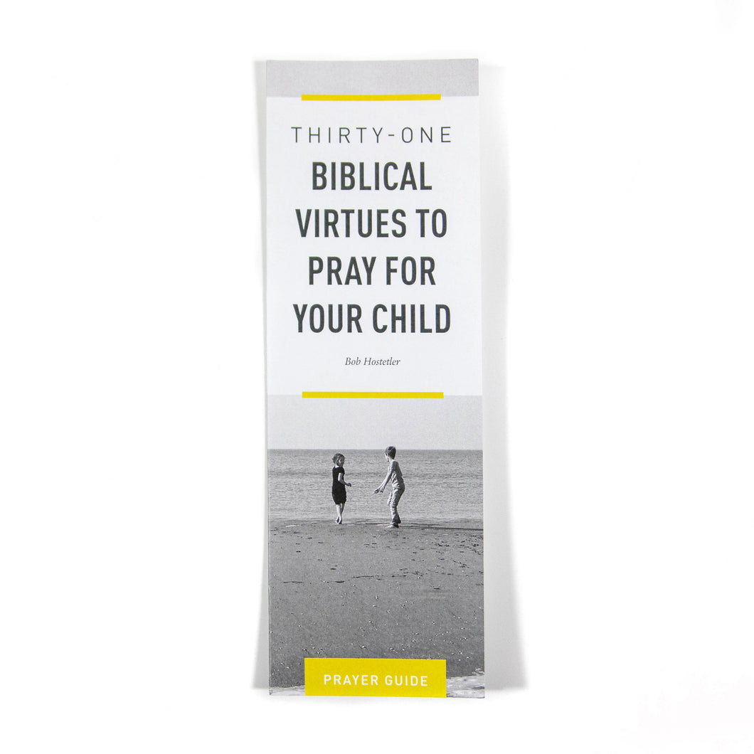 31 Biblical Virtues — Bookmark (Pack of 25)