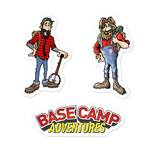 Base Camp Stickers Pack 1