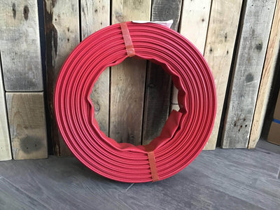 15m backwash hose deluxe (red) 38mm diameter