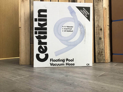 Certikin 1.5 inch (38mm) floating hose - 18 metre
