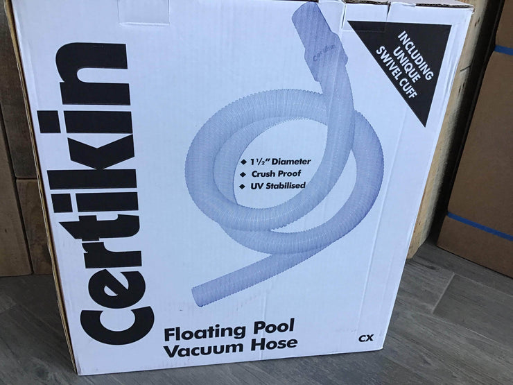Certikin 1.5 inch (38mm) floating hose - 9 metre