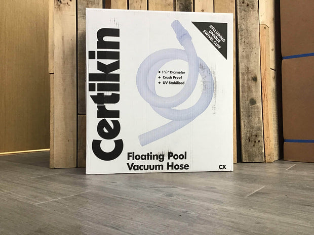 Certikin 1.5 inch (38mm) floating hose - 12 metre
