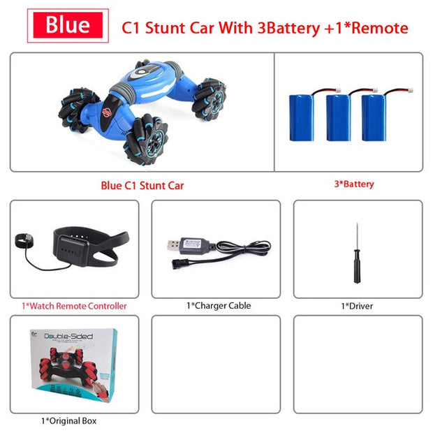 Remote Control Stunt Car Gesture Induction Car