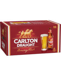 Carlton Draught Stubbies CARTON