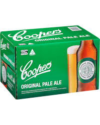 Coopers Pale Ale 375ml Stubbies CARTON