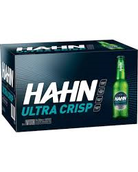 Hahn Ultra Crisp 330ml Stubbies CARTON