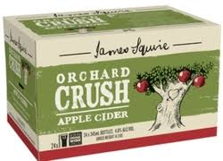 James Squire Orchard Crush Cider Stubbies Apple CARTON