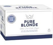 Pure Blonde 355ml Stubbies CARTON