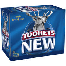 Tooheys New Cans 30 BLOCK
