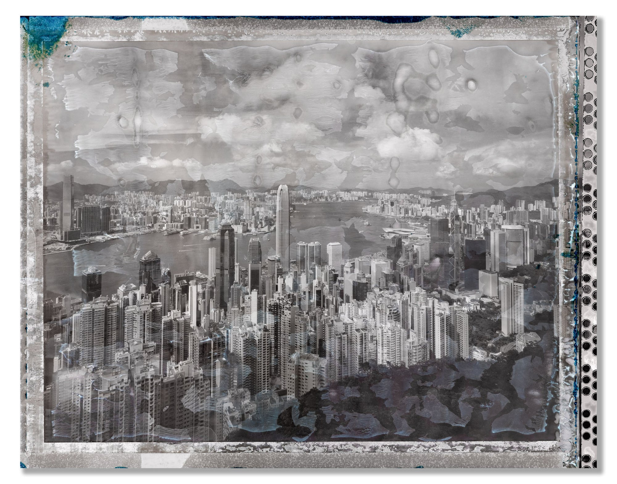 Polaroid, Peak View, Hong Kong