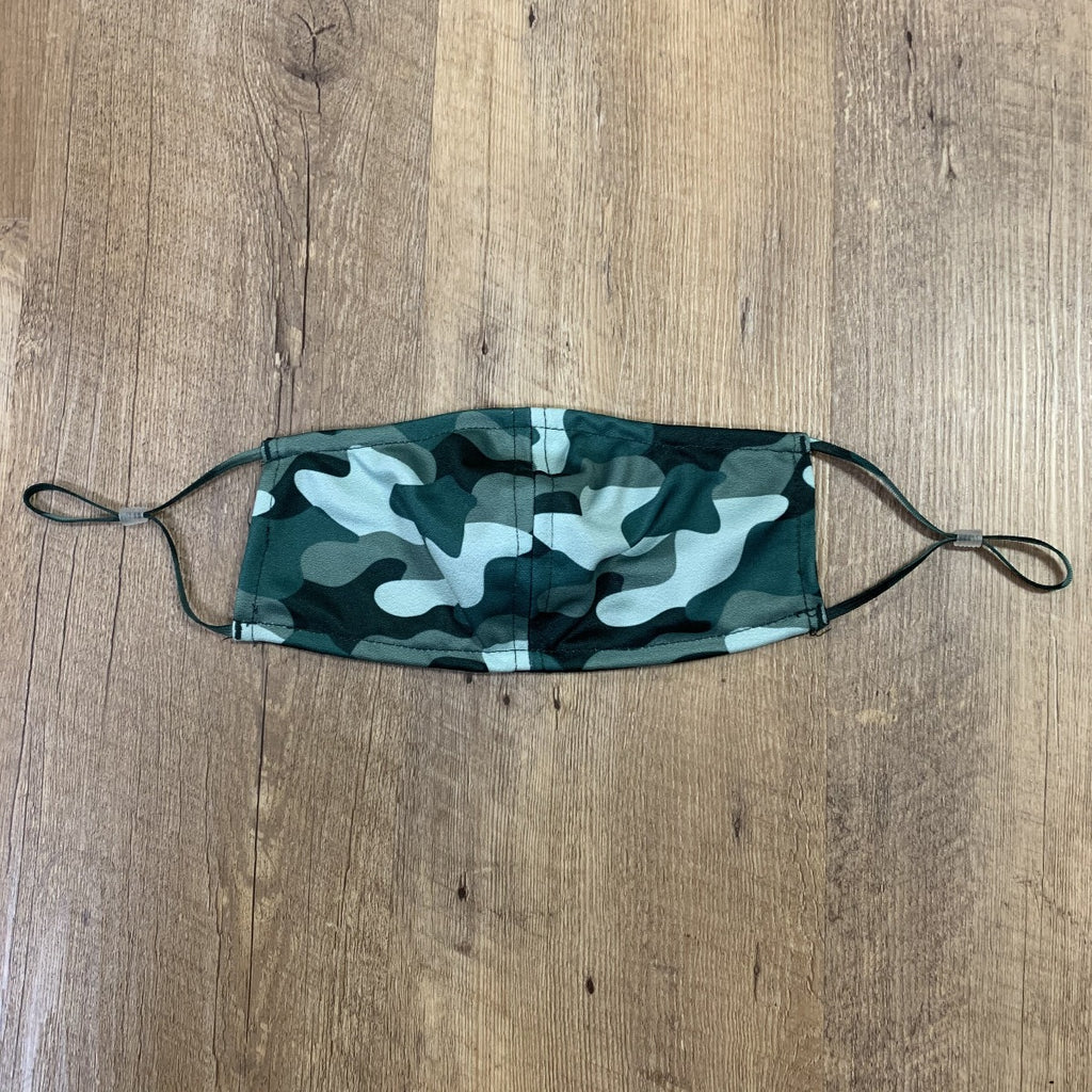 Viv and Lou Kids Facemask- Camo