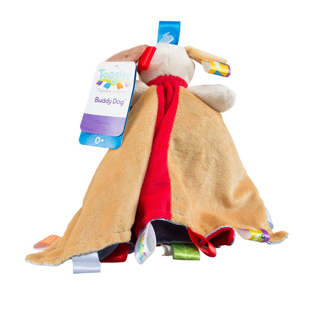 Taggies- Buddy Dog Character Blanket