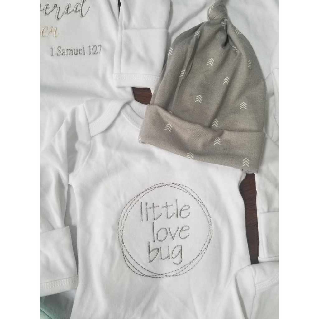 Love Bug Baby Gowns- Little Love Bug