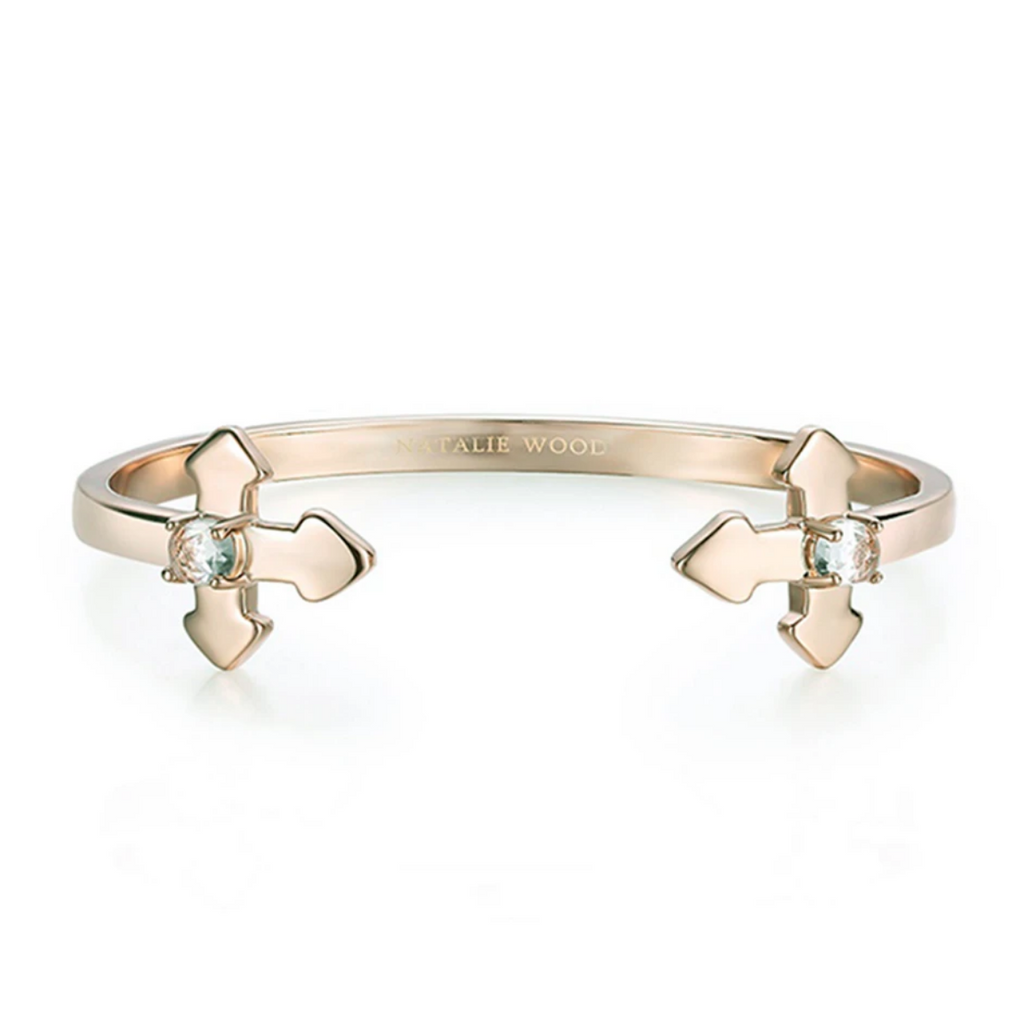 Natalie Wood - Believer Cross Cuff Bracelet