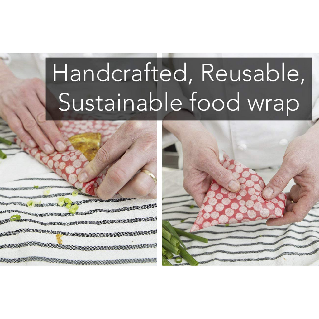 Z Wraps - Eco-Friendly Food Storage. 3-Pack