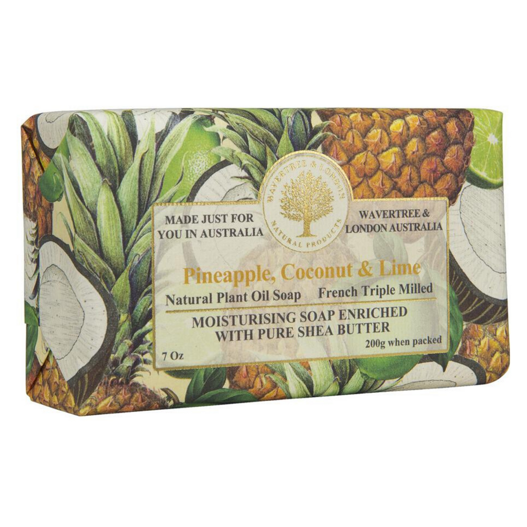 Wavertree & London Pineapple, Coconut and Lime Bar Soap