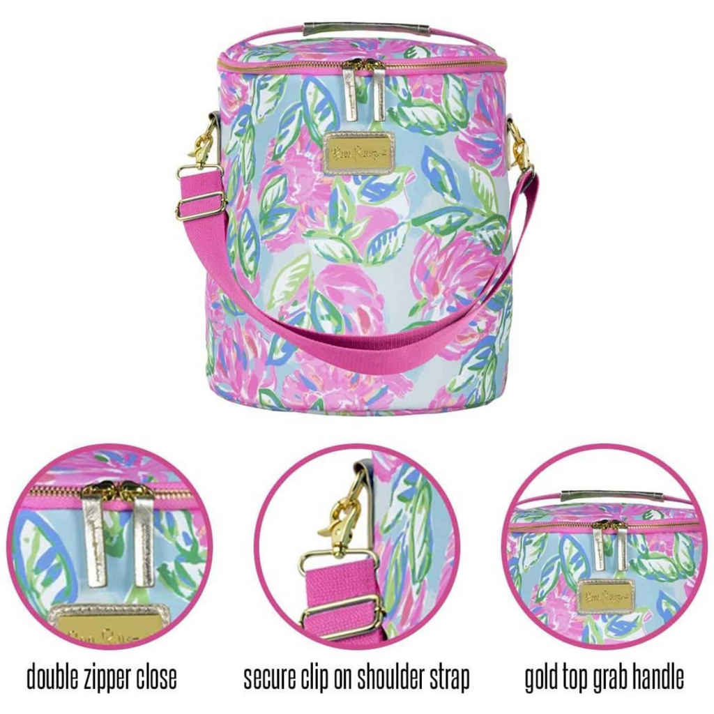 Lilly Pulitzer - Beach Cooler - Totally Blossom