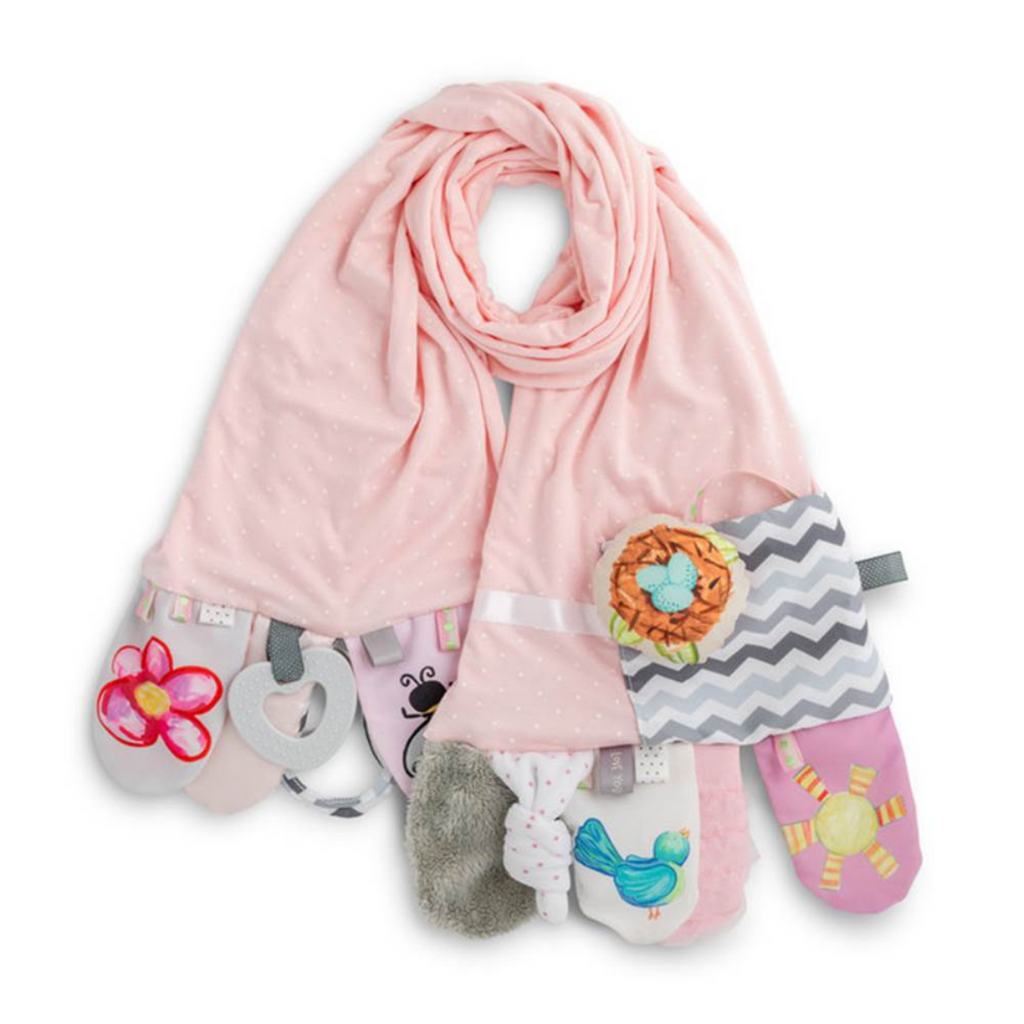 Demdaco - Mommy & Me Activity Scarf - Pink