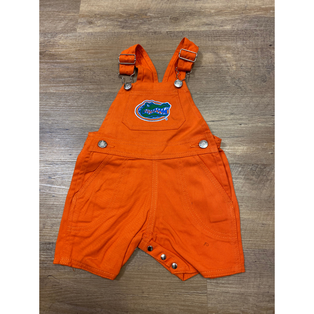 Creative Knitwear Baby and Toddler Short Leg Overalls - UF Gators