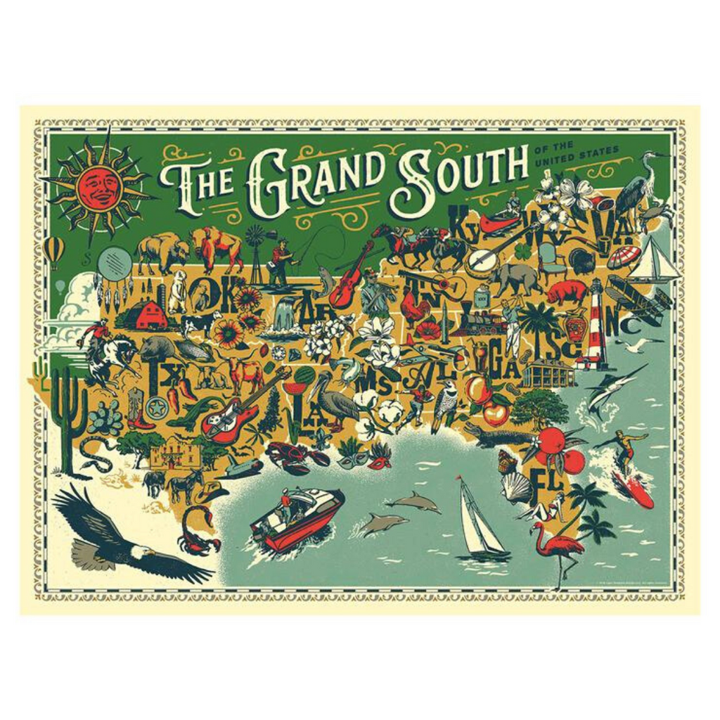 True South- The Grand South Puzzle