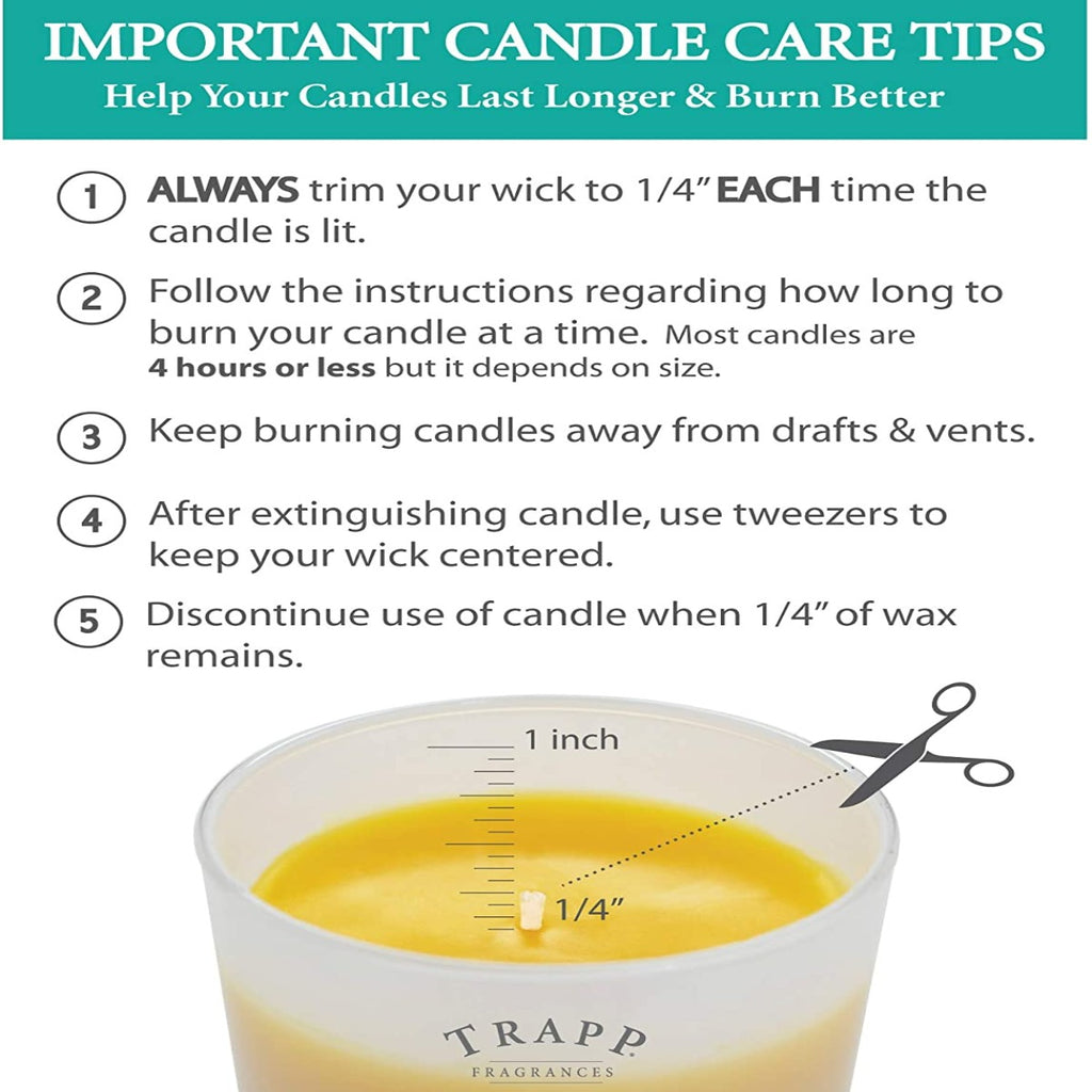 Trapp Signature Candle - Orange Vanilla