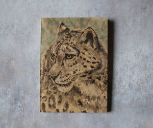Snow Leopard A6 Pocket Notebook