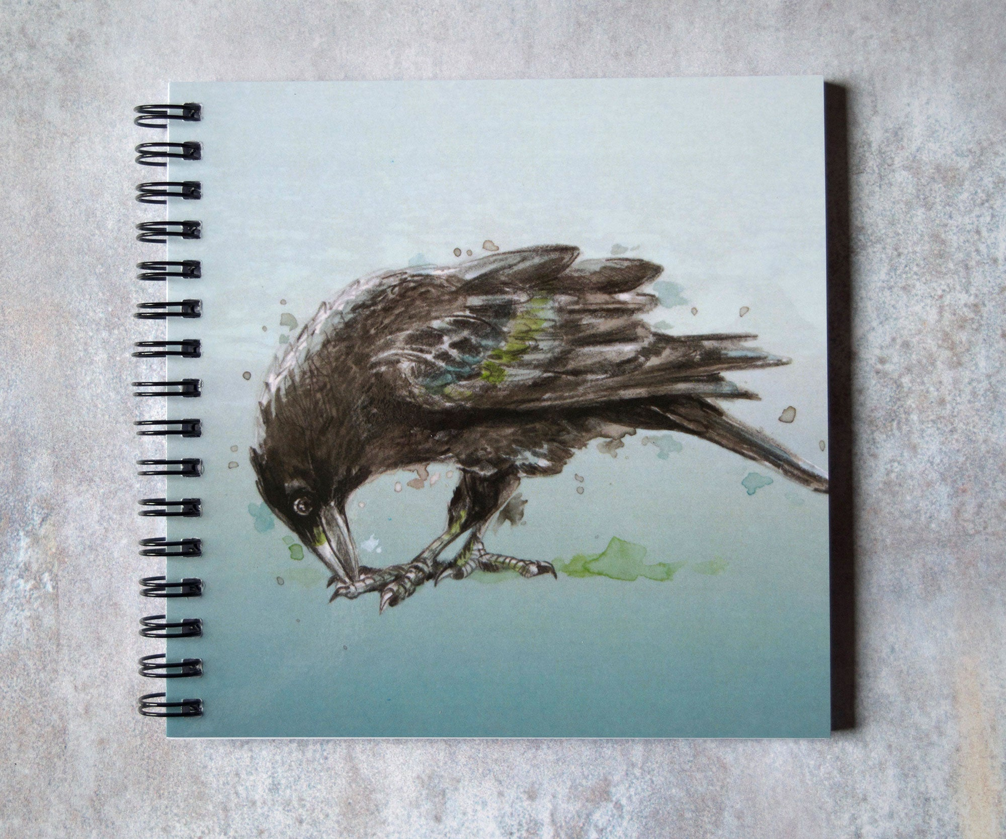 Crow Square Notebook