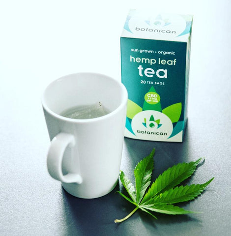 Hemp Leaf Tea - Botanican