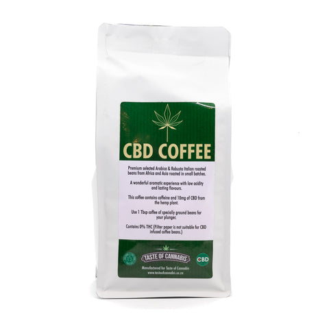 Taste of Cannabis - CBD infused Coffee