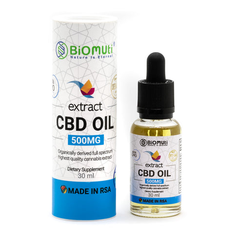 Biomuti Premium CBD Oil 500mg