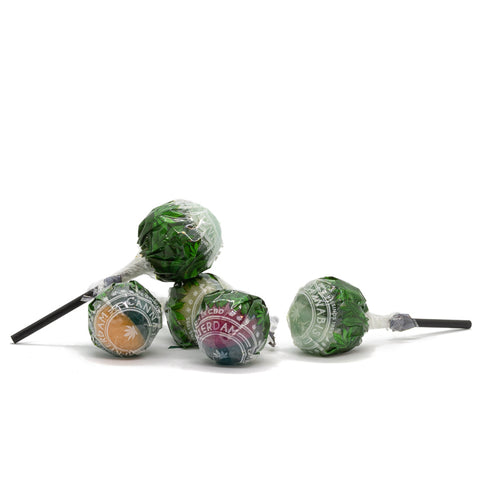 Cannabis Flavored Lollipops - Sold Individually
