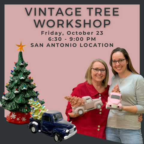 Friday, October 23 - Holiday Tree Workshop