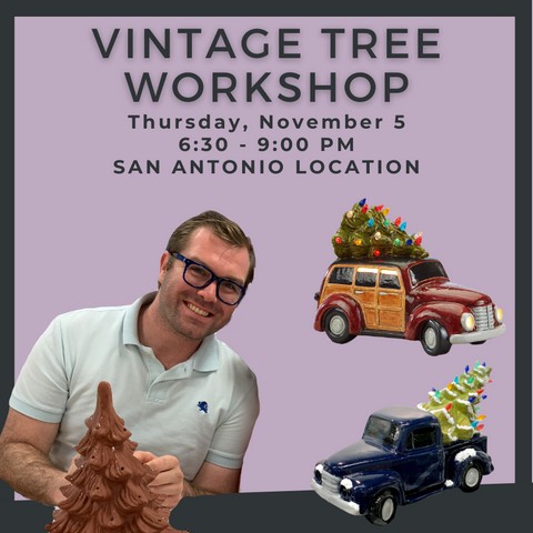 Thursday, November 5 - Holiday Tree Workshop