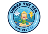 Under the Sea Pottery Box