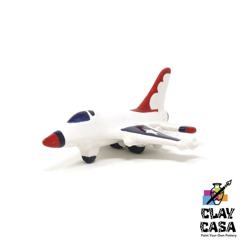 Large Jet Collectible