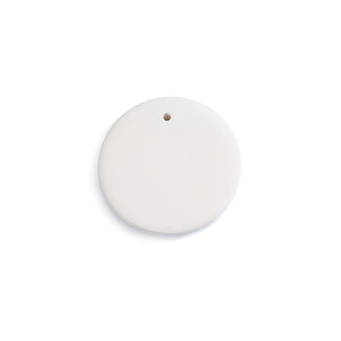 Small Round Flat Ornament 3""