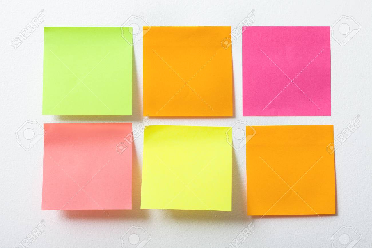 #recyclewithreuzi - Post-It Notes