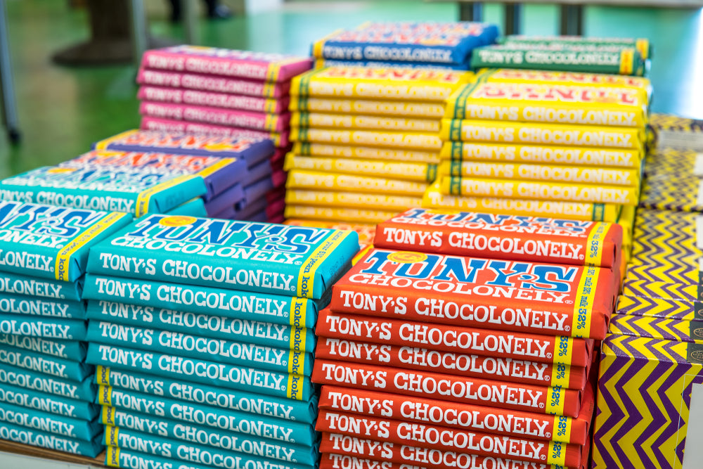 A Yummy Brand Collab with Tony's Chocolonely