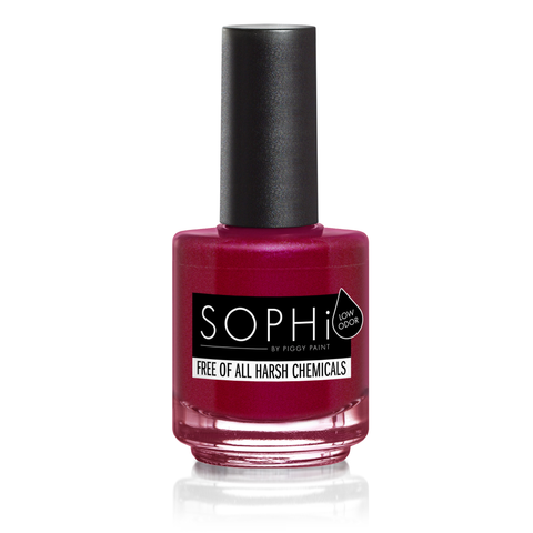SOPHi pregnancy-safe nail polish vegan 12-free just 4 ingredients - Out Of The Cellar