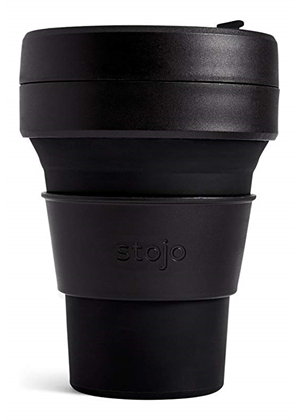 Stojo Brooklyn The Collapsible Pocket Cup - Ink